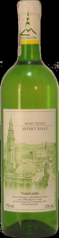winnica troan - wino białe