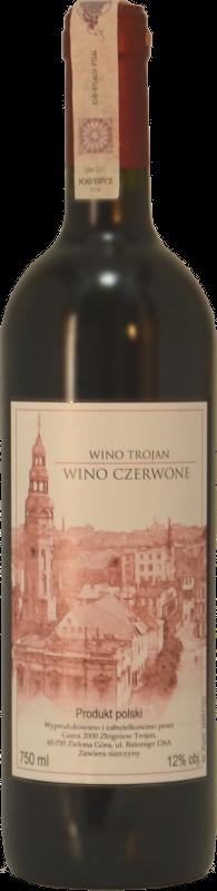 winnica troan - wino czerwone