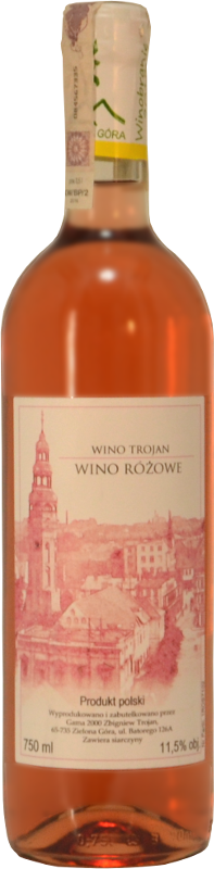 winnica troan - wino różowe